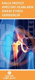 Kalça Protezi Ameliyatı Olanların Dikkat Etmesi  Gerekenler