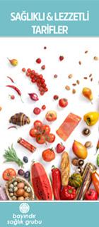 Sağlıklı ve lezzetli tarifler