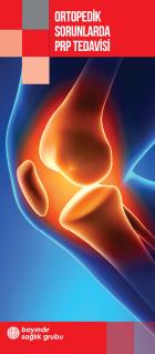 Ortopedik sorunlarda prp tedavisi